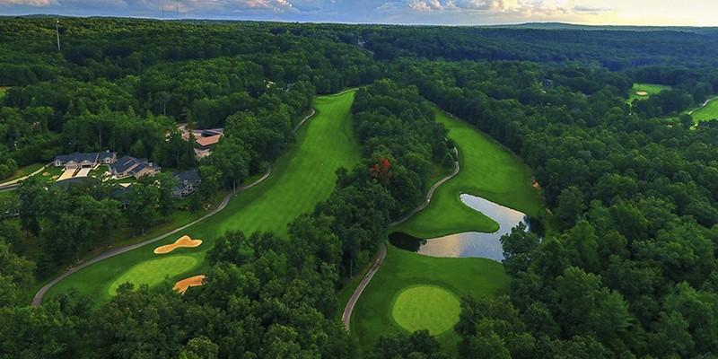 Fairfield Glade Tennessee Mountain Golf